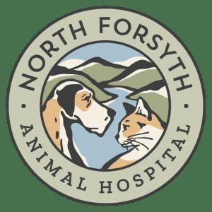 North Forsyth Animal Hospital badge, 3510 Rowe Ln Suite B, Cumming, GA 30041
